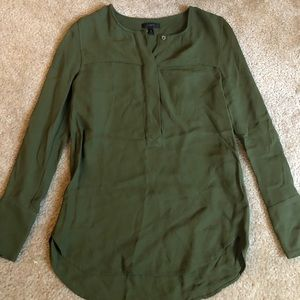 J Crew Long Sleeve Blouse